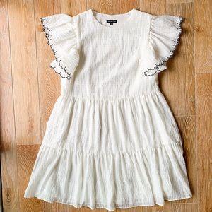 Target Who What Wear Ruffle Dress